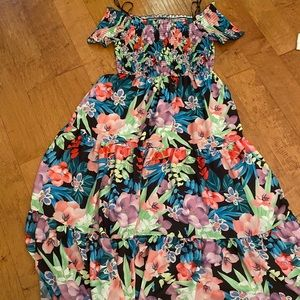 Floral City Chic Dress.